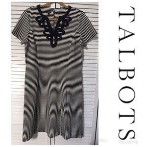 NWT TALBOTS Dress Sz L $109!